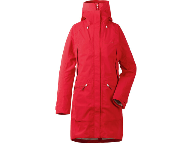 Didriksons 1913 Ilma Parka Femme, chili red